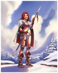 Red Sonja by RyanLovelock