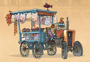 Jugaad the Fruit Seller by RyanLovelock