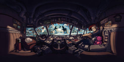 Expeditus 360 Cockpit by RyanLovelock