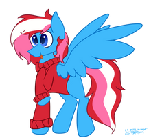 Commission - TheSpeedyPony by Maddie8972
