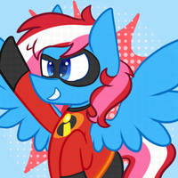 Icon Commission - TheSpeedyPony by Maddie8972