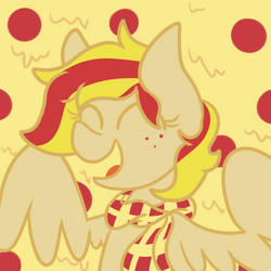 commission - Pizza Pony by Maddie8972