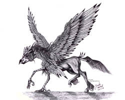 Realistic Aquila (Eagle) The Hippogriff by Jade-Viper
