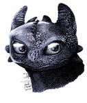 How To Train Your Dragon- Toothless by Jade-Viper