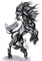 Steed of the Gods- Sleipnir by Jade-Viper