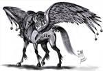Solar The Sun Pegasus by Jade-Viper
