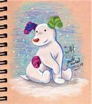 The Snowdog by Jade-Viper