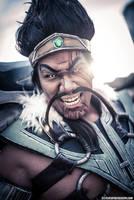 Mean Warrior! by RocknamLee