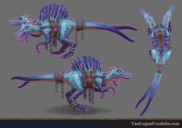 Corrupted Spino by VanLogan