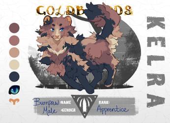 [GoldBloods] || Burnpaw of Kelra by aleskay