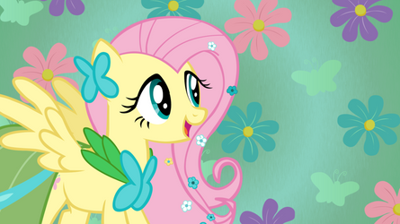 Fluttershy at the gala by UnicornRarity