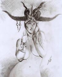 Queen Atziri by CaueBorges
