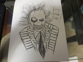 Beetlejuice Drawing by FloppsyProduction
