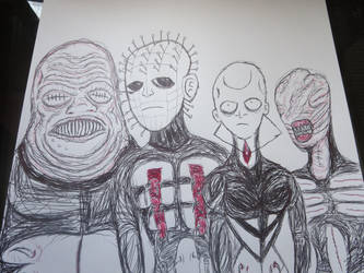 Hellraiser Cenobites by FloppsyProduction