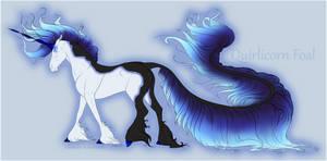 1367 Foal Design - Quirlicorn by ANIMALGIRL1869