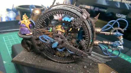 Skaven Doomwheel by fromlusttodust