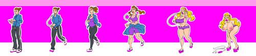Run Bimbo Run Full Sequence by BimboPhi