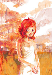 Redhaired Judy by VenusKaio