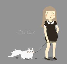 Cat Walk by VenusKaio