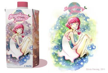 Strawberry Juice by VenusKaio