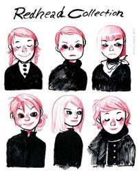 Redhead Collection by VenusKaio