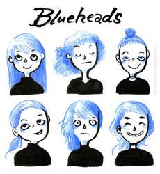 Blueheads by VenusKaio