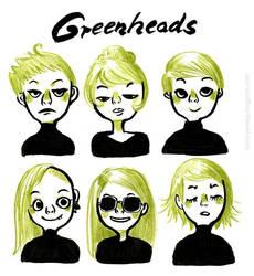 Greenheads by VenusKaio