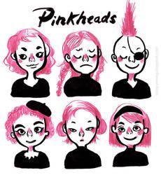 Pinkheads by VenusKaio