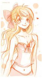 Minako Sketch by VenusKaio