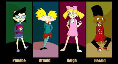 Hey Arnold by VenusKaio