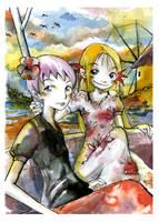 Two on a beautiful journey by VenusKaio