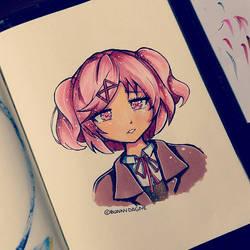 Natsuki by BunnyDagne
