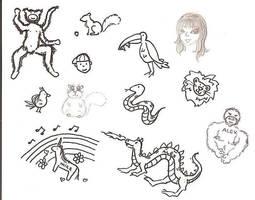 Philosophy Doodles by Tartango
