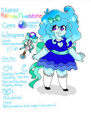 My Gemsona | Rainbow Moonstone by TattleSprite