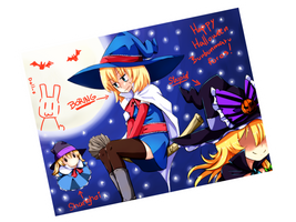 Happy Halloween! XDD by psln