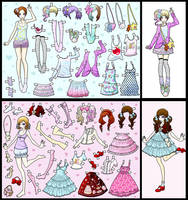 dress up dolls pt.1 by CooLtshuck