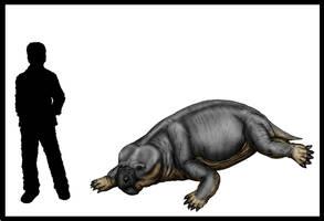 Kitchinganomodon crassus Scale by Bran-Artworks
