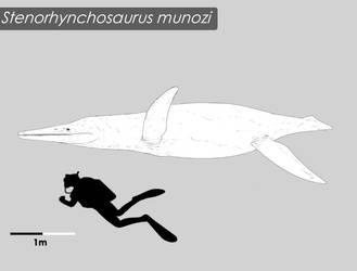 Stenorhynchosaurus munozi by Bran-Artworks