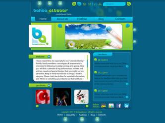 Personal website by BahaaAlbzoor