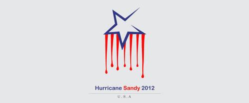 Hurricane Sandy by BahaaAlbzoor