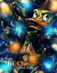 Big Angry Duck by Grycio