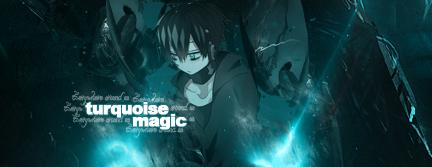 Turquoise magic by Grycio