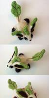 Leafeon Mini Beanie ALT VIEWS by TheHarley