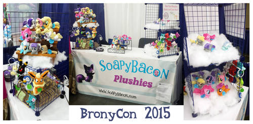 BronyCon Booth 2015 by TheHarley