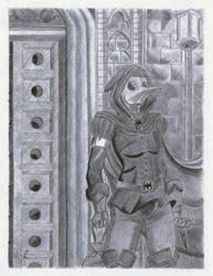 Plague Doctor by blueskatt