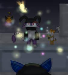 Magic tricks (Happy birthday Sweirde) by TheKittyArtist