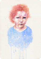 Blue kid by Blue-birch-insight