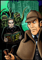 Nightmare On Baker Street by curtsibling