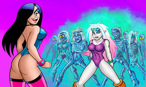 Undead Aerobic Class by curtsibling