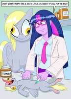 Pony Vaccination by curtsibling